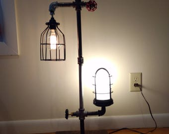 Steampunk Pipe Lamp