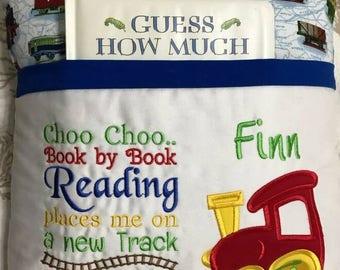 Train Reading Book