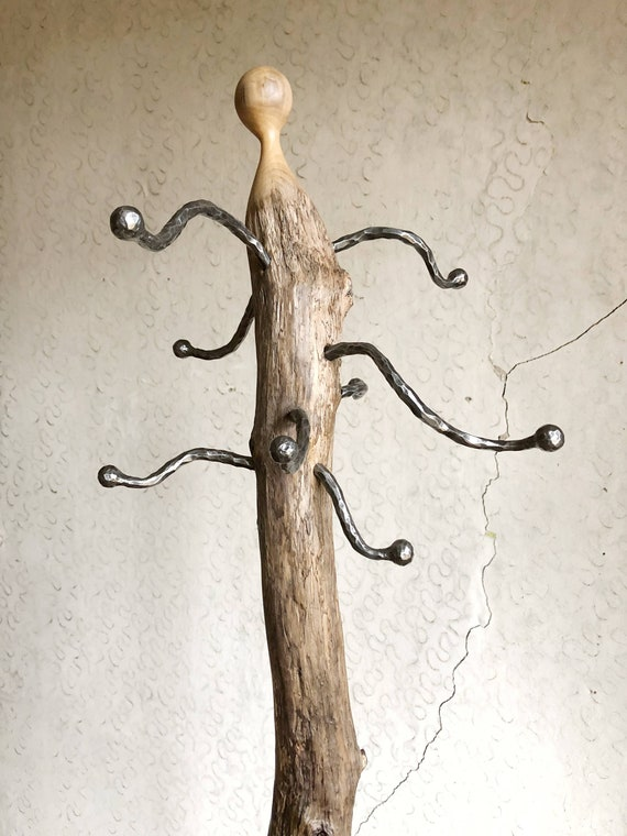 Driftwood coat rack, Wooden coat rack, Handmade coat rack, Rustic coat rack, Wooden hanger, Reclaimed coat rack, Hat hanger, hat rack