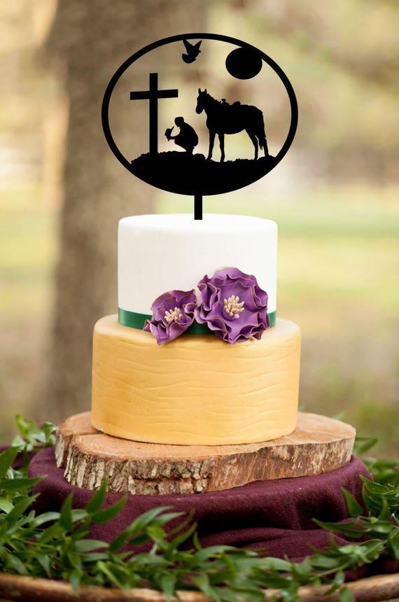 Silhouette Cake Topper Horse Silhouette Cake Topper | Etsy