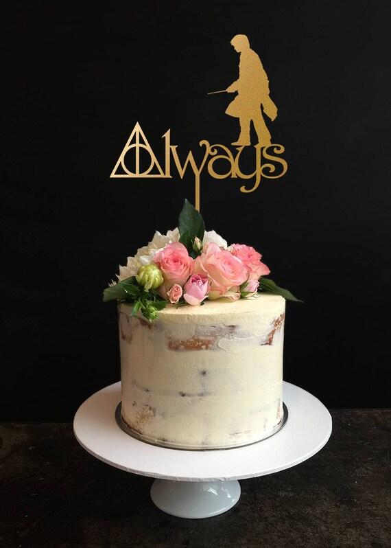 Harry Potter Kuchen Deckel Harry Potter Hochzeitstorte Etsy