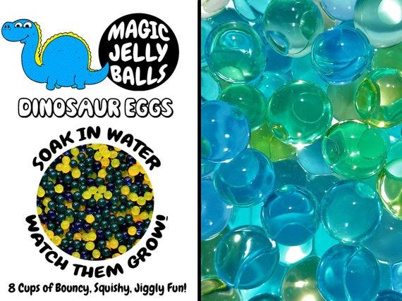 Œufs de dinosaures - boules magique gelée - culture des perles d'eau