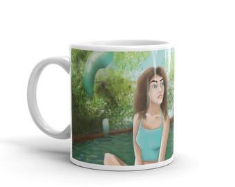 Modern Water Nymph Mug