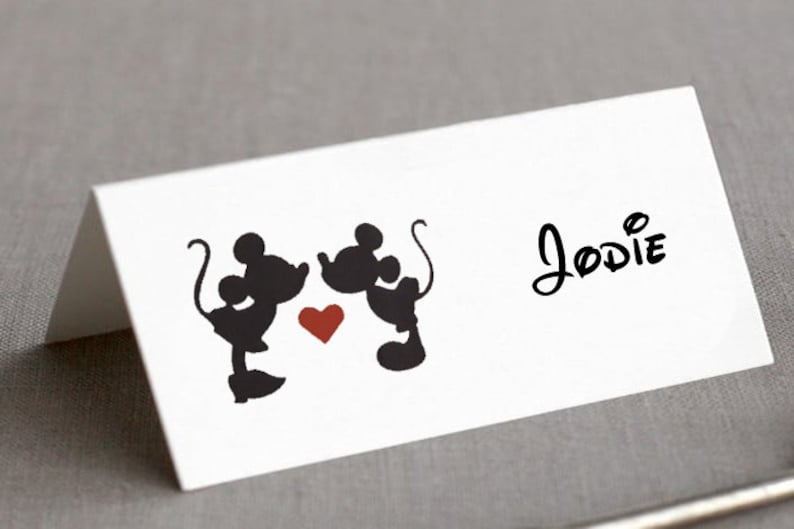 50 x Disney Place Cards image 0