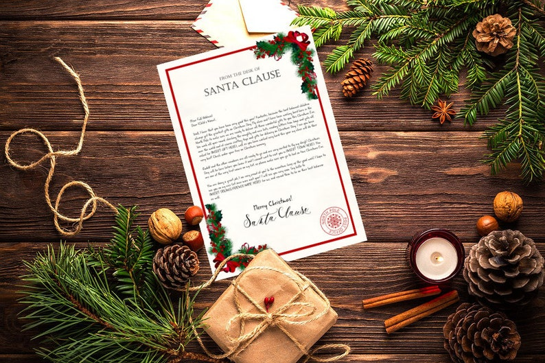 Personalised Letter from Santa image 0