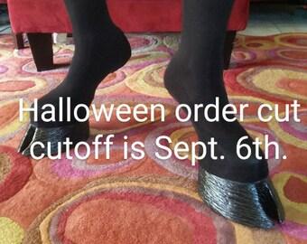 HOOF SHOES  Cloven hooves fantasy footwear