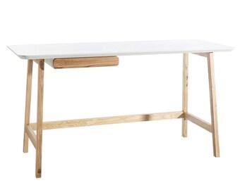 Desk, wood desk, modern desk, simple desk, office desk, computer desk, writing desk, work desk, solid wood desk, home office desk, deks.