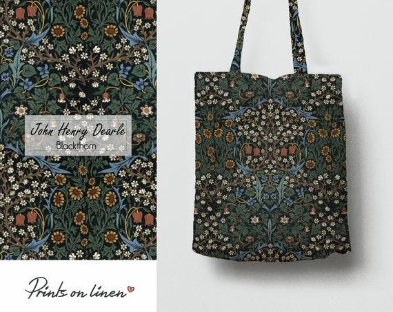 linen tote bag unique tote bag 100/% linen Alphonse Mucha Carmichael/'s Luxuria Bath Tablets Tote bag canvas