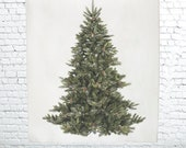 Tapestry, tree decor, wall tapestry, wall hanging, Fir Tapestry, Christmas decor, hippie tapestry, holiday decor, Christmas tree, wall art