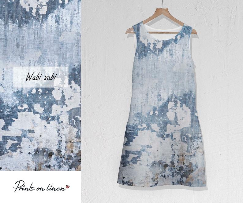 9a56dbb6530c Linen dress Wabi sabi urban dress vaporwave linen tunic