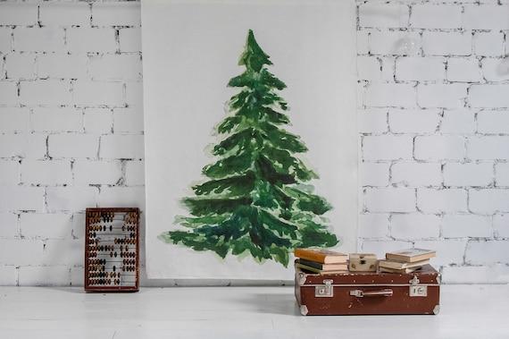 Tapestry, tree decor, wall tapestry, wall hanging, boho decor, Christmas decor, hippie tapestry, holiday decor, Christmas tree, wall art