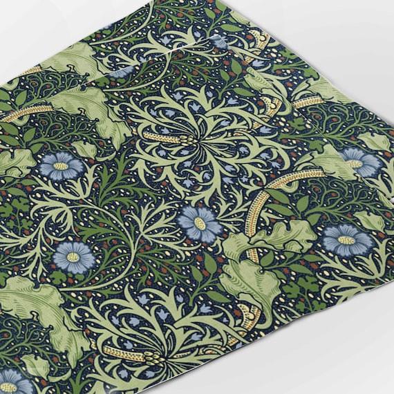 Placemats set, John Henry Dearle, Seaweed, 100% linen, home decor, linen table top, linen placemats, vintage gift, vintage art, Linenislove