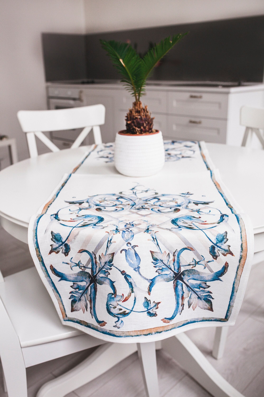 100 Linen, Table Cloth 1
