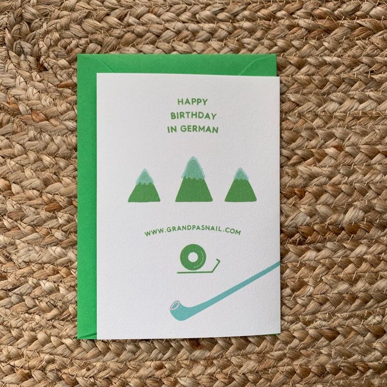 happy birthday in german german birthday card greeting
