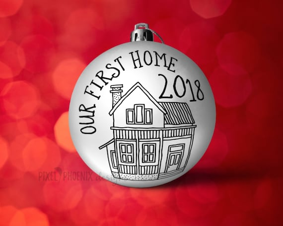 First Christmas In Our New Home Svg.Our First Home Svg Christmas Svg New Home Svg First Home Cut File First Home Svg 2018 Svg Svg Cut File Cricut Silhouette