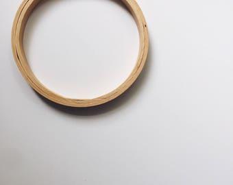 """4"""" Vintage Wooden Hoop"""