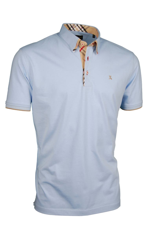 3fad28d1071 Premium poloshirt door Giorgio Capone shirt kraag Burberry | Etsy
