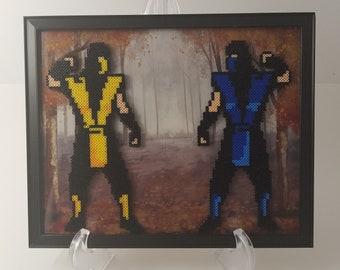 Mortal Kombat Scorpion Sub-Zero Wall Art