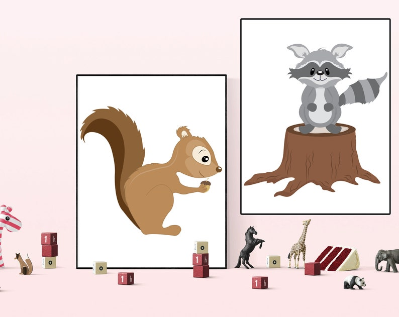 image regarding Squirrel Printable identified as Squirrel Rac Printable, Woodland pets Printable, Nursery boy wall artwork, Nursery woman deco, Squirrel prints, woodland printable, PS024