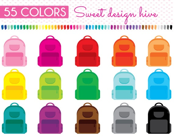 School Bag Clipart Backpack Clipart Bag Clipart Back To Etsy Sort pngs by downloads date ratings. school bag clipart backpack clipart bag clipart back to school rainbow planner stickers commercial use pl0076