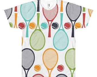 a30f38c4 Fun Tennis Shirt for Women and Men for Cute Tennis Gifts, Tennis Unisex  Tshirt