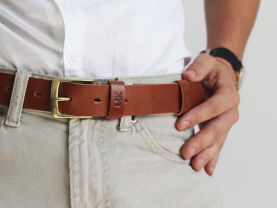Ceinture pour homme ceinture en cuir ceinture personnalisée   Etsy d8242ea374d