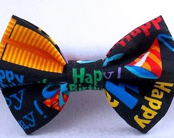 birthday bow tie etsy