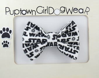 Dog Bow Tie Star Wars Bow Tie Bowties Bow Tie for Dog Star Wars Dog Bow Tie Cat Bow Tie Bunny Bow Tie Geek Bow Tie