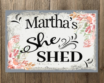 Potting Shed Signs   Etsy