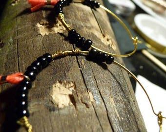 Creole SOLANGE bead and tassel