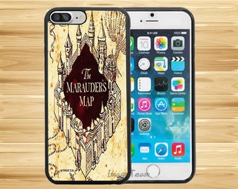 Harry Potter Marauders Map Castle Pattern iPhone 8 Plus iPhone X iPhone 7 Plus iPhone 6 6s Plus iPhone 5 iPhone 4 4s ipod touch 5 Touch 6