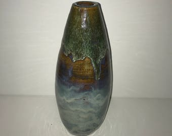 Egg Shaped Ceramic Vase