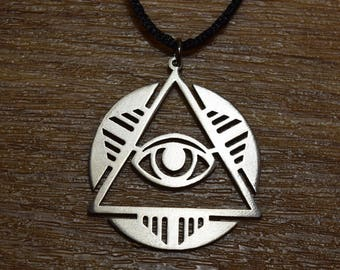 Pride Great Seal Of The United States Of America Usa Emblem Eye Of Providence Charm Antique Silver Plated Jewelry For Gift Jewelry Sets & More Charms