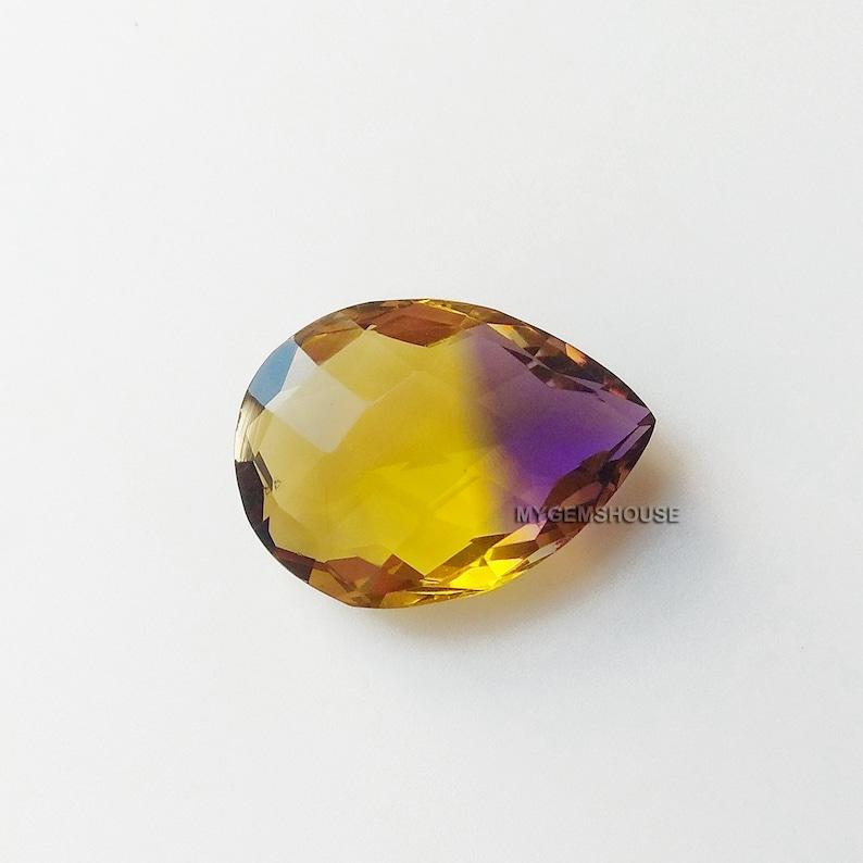 Ametrine Quartz Gemstones, Loose Gemstones, Wholesale Quartz Gemstones,  Ametrine Quartz, Cut Stones Suppliers, Loose Cabochon, Quartz 1 Pcs