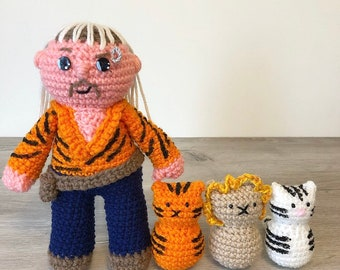 Create Your Own Crochet Joe Exotic From Tiger King Thanks To This ... | 270x340