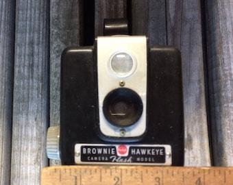 Vintage Brownie. Hawkeye Camera. Photography. Prop.