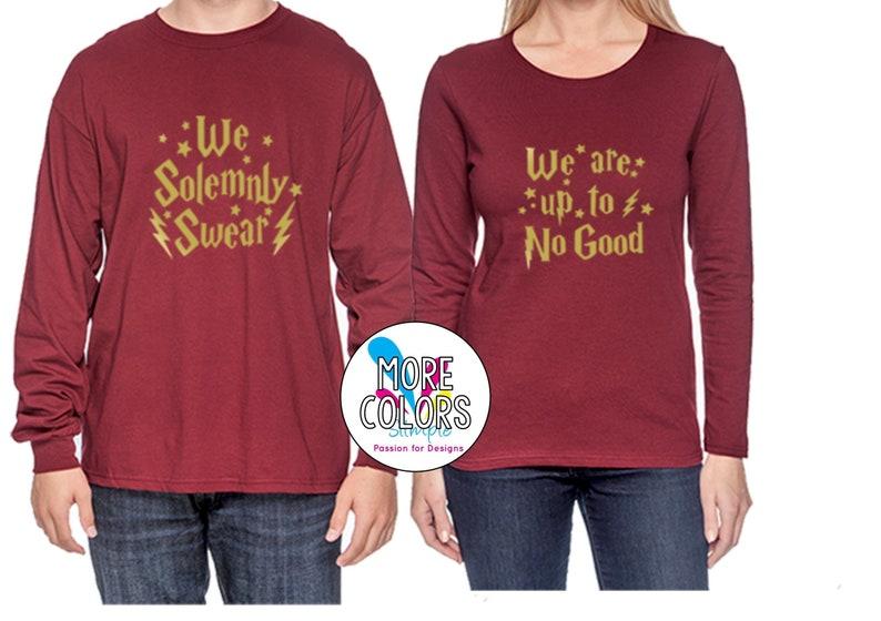 43d25148 HP T Shirt Long Sleeves Movie T Shirts Book T Shirt Nerd | Etsy