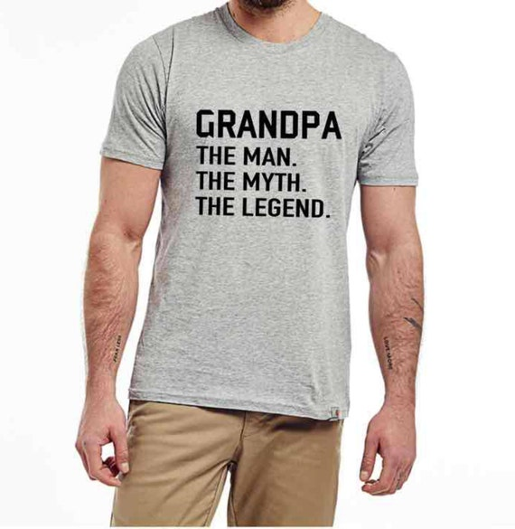 9593e5cad1 Grandpa T-Shirt grandfather daddy shirt Cute Men s