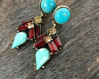 The Daphne earrings