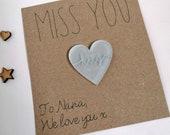 Pocket Hug | Miss You Gift - Small Personalised Keepsake