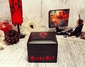 Engagement Ring Box | Horde Inspired Proposal Ring Box