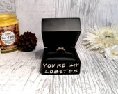 Personalised Engagement Ring Box | My Lobster