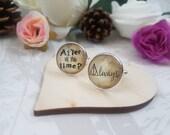 Always Cufflinks | All This Time Wedding Cufflinks | Groom Gift