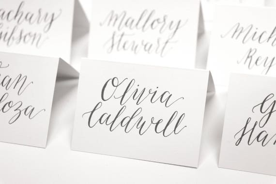 image 0 - Folded Place Cards