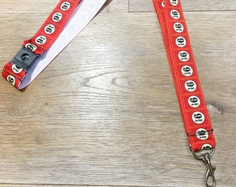 Harry Potter 9 3/4 Kings Cross Lanyard/Name Badge with Quick Release, ID Badge, Fob, Badge Holder, Key Chain.