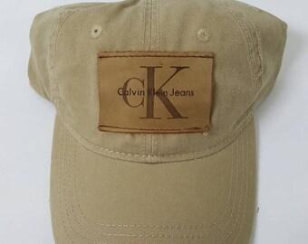 cadfd89b153 Calvin Klein Hat Custom CK Strapback Cap