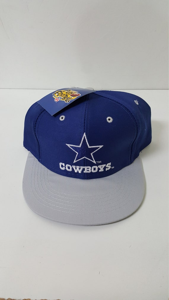 Vintage 90s Dallas Cowboys Youth Kids Snapback Cap Hat  7ea31a0a8ea1