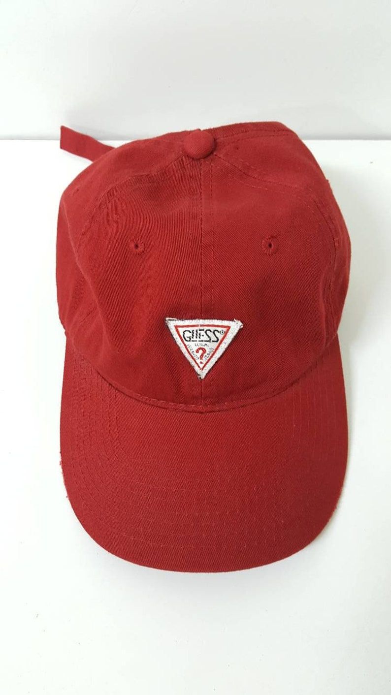 e1a2acf70d324 Custom GUESS Georges Marciano Strapback Cap Hat