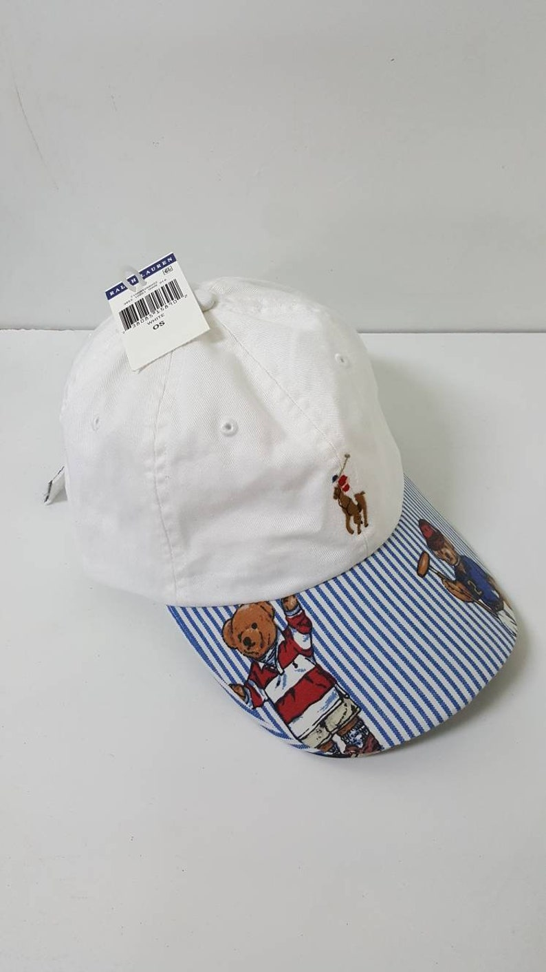 7f54c991294ee Polo Bear Hat Custom Strapback Cap Hat Ralph Lauren