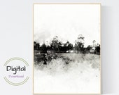 Abstract Landscape Printable wall art